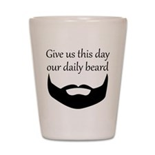 Our Daily Beard Shot Glass