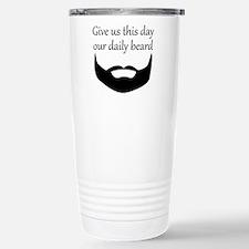 Our Daily Beard Travel Mug