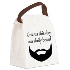 Our Daily Beard Canvas Lunch Bag