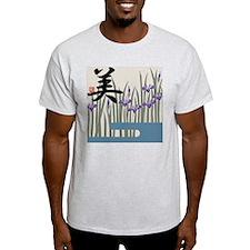 """Iris & """"Beauty"""" Ash Grey T-Shirt"""