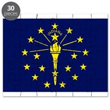 Flag of Indiana Puzzle