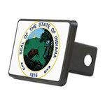 Seal of Indiana Rectangular Hitch Cover
