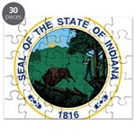 Seal of Indiana Puzzle