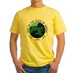 Seal of Indiana Yellow T-Shirt