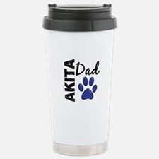Akita Dad 2 Travel Mug