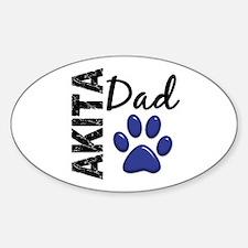 Akita Dad 2 Decal