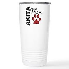 Akita Mom 2 Travel Coffee Mug