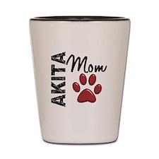 Akita Mom 2 Shot Glass