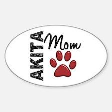 Akita Mom 2 Decal
