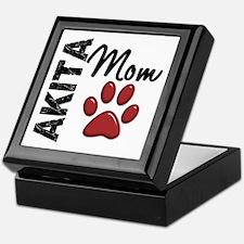 Akita Mom 2 Keepsake Box