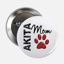 "Akita Mom 2 2.25"" Button (100 pack)"