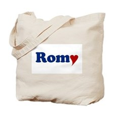 Romy with Heart Tote Bag