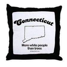 CONNECTICUT: More white people than trees Throw Pi