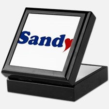 Sandy with Heart Keepsake Box