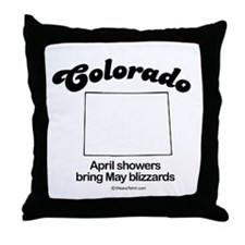 COLORADO: April showers bring May blizzards Throw