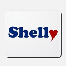Shelly with Heart Mousepad