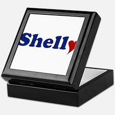 Shelly with Heart Keepsake Box