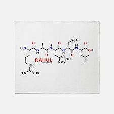 Rahul molecularshirts.com Throw Blanket
