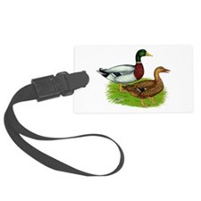 Mallard Ducks Luggage Tag