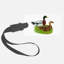 Mallard Ducks Luggage Tag