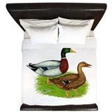 Drake waterfowl Duvet Covers