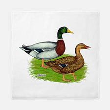 Mallard Ducks Queen Duvet