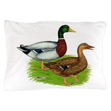 Mallard Ducks Pillow Case