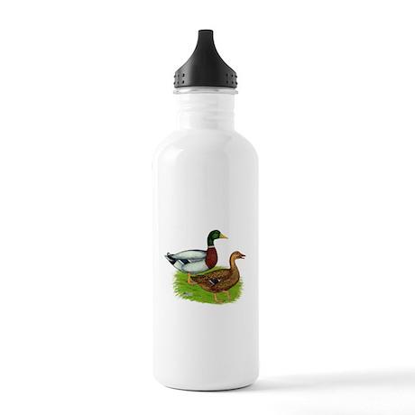 Mallard Ducks Stainless Water Bottle 1.0L