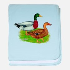 Mallard Ducks baby blanket