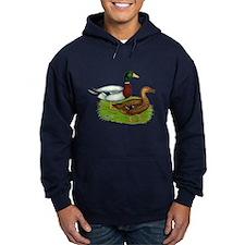 Mallard Ducks Hoodie