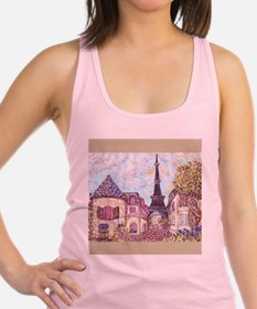 Paris Inspired Pointillism Eiffel Tower by Kristie