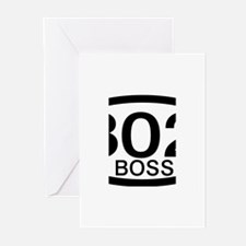 Boss 302 c.i.d. Greeting Cards (Pk of 20)