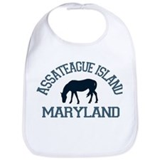 Assateague Island MD - Ponies Design. Bib