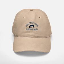 Assateague Island MD - Ponies Design. Baseball Baseball Cap