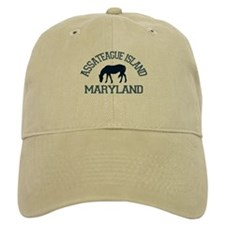 Assateague Island MD - Ponies Design. Baseball Cap