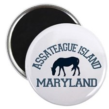 Assateague Island MD - Ponies Design. Magnet
