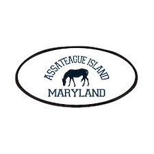 Assateague Island MD - Ponies Design. Patches