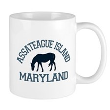 Assateague Island MD - Ponies Design. Mug