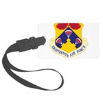 Eighteenth Air Force Large Luggage Tag