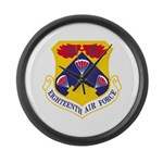 Eighteenth Air Force Large Wall Clock