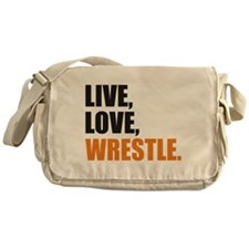 wrestling Messenger Bag