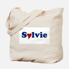 Sylvie with Heart Tote Bag