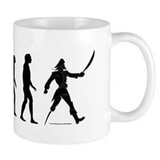 """Arrr""volution of Man Mug"