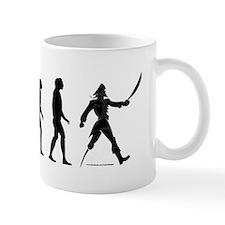 """Arrr""volution of Man Mug"