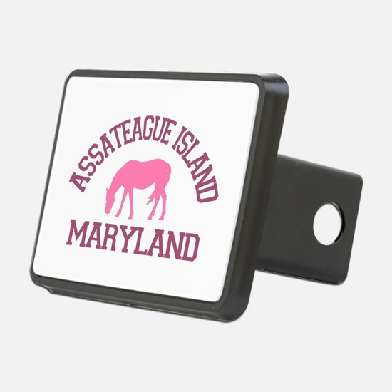 Assateague Island MD - Ponies Design. Hitch Cover