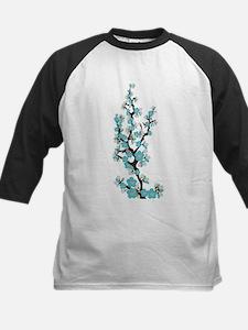 Cherry Blossoms Japanese Sakura (aqua) Tee