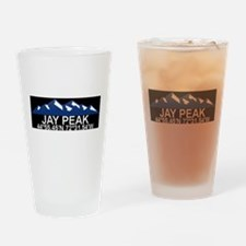 Cute Jay peak Drinking Glass