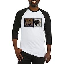 Yellowstone Black Bear Badge Baseball Jersey