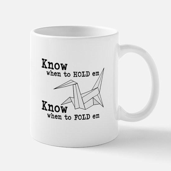 Know When to Hold 'Em Mug