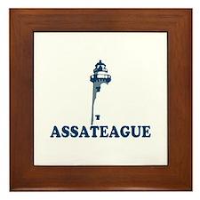 Assateague Island MD - Lighthouse Design. Framed T